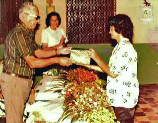 Christmas 1978 at Colony Antonio Justa