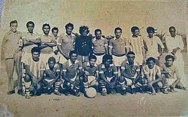 Football team in the colony of Bomfim