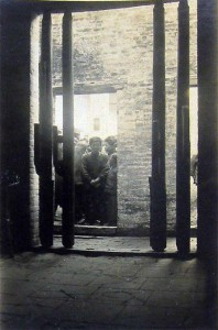 Leprosy detention station, Canton, China, 1931