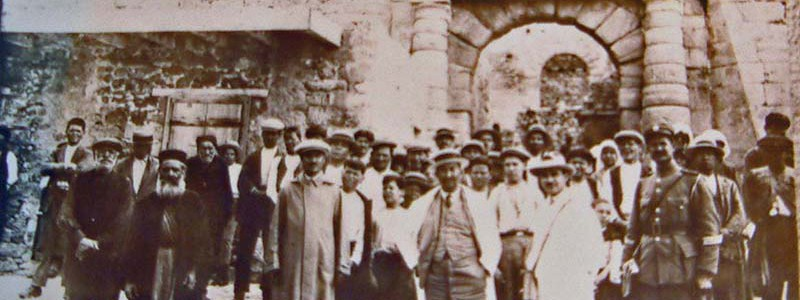 Greece Spinalonga doctors, priest, and inmates