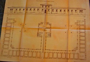 Plans for a leprosarium, Greece