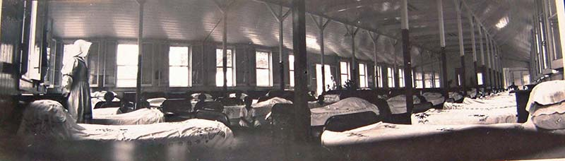 Dormitory ward, Makogai (League of Nations Archive)
