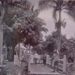 Bridge between asylum and staff quarters, Groot Chatillon, 1930