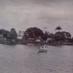 View of Groot Chatillon from the river, 1930