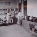 Kitchen at St Gerardus Majella, 1930