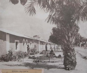 The Leprosarium of Yonda, the Belgian Congo