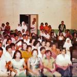 Christmas gathering at Antonio Justa, 1978