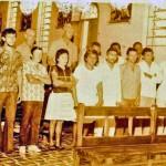 Group of students at Antonio Justa, 1978