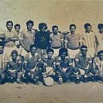 Football team at Bomfim