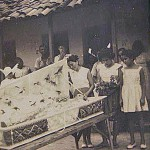 A funeral in the colony of Bomfim