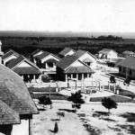 Pavilions in the colony of Itapuã