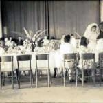 A Catholic wedding reception in Santa Marta
