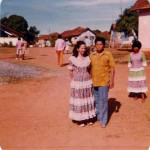 A couple in the Colônia Santa Marta, Goiás