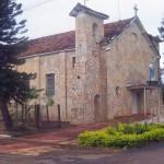 The Catholic church in Santa Marta today