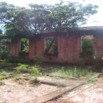 Ruins of the old men's pavilions