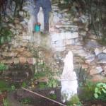 A shrine in the gardens of Santa Marta