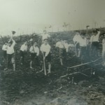 Boys working in the fields at Santa Terezinha