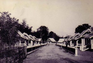 Buildings at Chiangmai Leprosy Colony. (Source: McKean Rehabilitation Center)