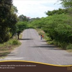 Road on the outskirts of Agua de Dios