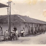 The main street of Agua de Dios in the 1960s