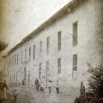 Older photograph of the Colegio Salesiano Miguel Unia, which served as a home for children with leprosy from 1899 until 1905.