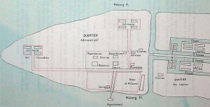 Layout of Culao-Rong leprosarium