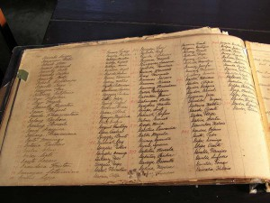 The Register of People Admitted to the Asylum (Culion Museum and Archives)