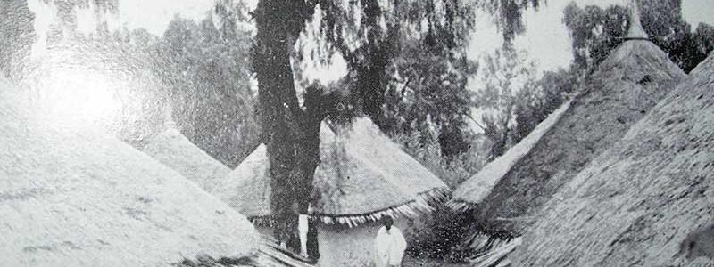 The Leprosarium of Harrar, in Ethiopia, 1920s (Jeanseleme)
