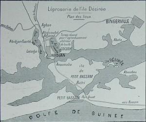 Adzopé on Ile Desirée in Côte d'Ivoire