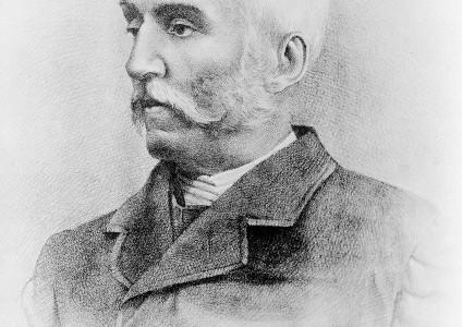 Self-portrait by Henry Vandyke Carter, 1870. Many of Carter's publications are held in the India Office Archives. (Wellcome Library, via Wikimedia Commons: https://commons.wikimedia.org/wiki/File:Henry_Vandyke_Carter_(self-portrait,_1870).jpg#/media/File:Henry_Vandyke_Carter_(self-portrait,_1870).jpg)
