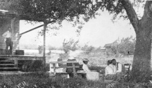 Some of the first patients at Carville, with nursing staff, in the 1890s. (Times-Picayune: http://www.nola.com/175years/index.ssf/2012/08/our_times_carville_leprosarium.html)