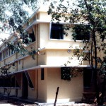 The second storey at Bankura Leprosy Hospital houses the Teaching Laboratory, Classroom and Training Hostel. (TLMI Publicity Release, Sep 1991)