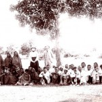 Mr and Mrs Penner with a group of leprosy patients, Champa. 1904