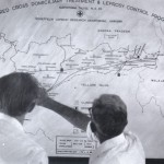 Map of Karigiri Leprosy Control Programme in the villages. 1975