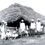 Poladpur church, built by the leprosy patients. May 1905.