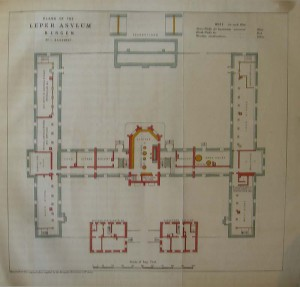 Plans for a leprosarium in Bergen
