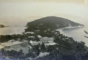 Oshima, aerial view