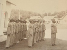 Sungei Buloh police force. (League of Nations Archives)