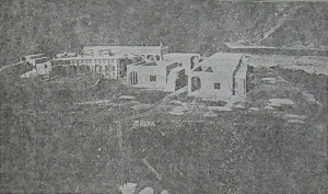 The site in the course of construction (Leper Quarterly)