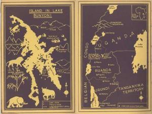 Island in Lake Bunyonyi (Map)