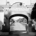 Entrance to the colony - historical image