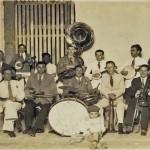 The colony's jazz band