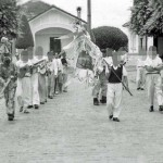 A parade on a religious feast day