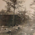 Huts on Bentinck Island, British Columbia (Source: Archive of the League of Nations)