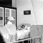 A child hospitalised under the care of one of the sisters