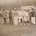 Sungai Buloh fancy dress parade on sports day, 1932