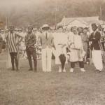 Sungai Buloh fancy dress parade on sports day, 1932