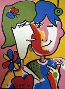 A painting by José Tadeu Bezerra de Oliveira. (WHO Goodwill Ambassador's Newsletter for the Elimination of Leprosy)