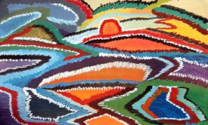 Painting by Y. Uma, Bindu Art School. (http://www.bindu-art.at)