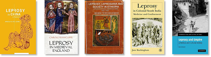 Some scholarly works on leprosy.